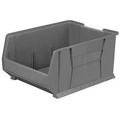 akromils aprbench150sc bench pick rack with 12 shelf bins grayclear