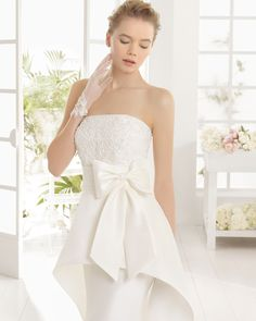 MENINA vestido de novia de Aire Barcelona 2016
