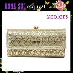 【楽天市場】アナスイ ANNA SUI 財布 さいふ ダニエラ がま口 かぶせ 長財布 全2色:Jos Brand Select Shop