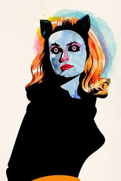 Catwoman by Alvaro Tapia Hidalgo