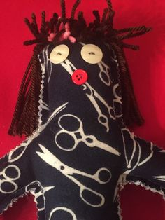 A personal favorite from my Etsy shop https://www.etsy.com/listing/245873809/doggy-dammit-doll-new-puppy-doll-spca