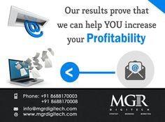"""""""Email marketing will keep your brand in your targeted Customer's Mind!!"""" MGR DIGITECH offered E-mail Marketing Services which generates expected leads for business..  For more details please contact us: Contact details Phone: +91 8688170003, +91 8688170008 Email-Id:info@mgrdigitech.com Website:www.mgrdigitech.com  #MGR,#MGRDigitech,#Digital,#OnlineSales,#DigitalSolutions,#EmailMarketing"""
