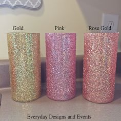 A personal favorite from my Etsy shop https://www.etsy.com/listing/559850015/gold-pink-rose-gold-decor-baby-shower