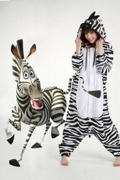 Animal Adult Onesie Costume or Pajama is called Kigurumi in Japan and it is them who change it into fashion. Animal Adult Onesie will make you... getting a totoro one :)
