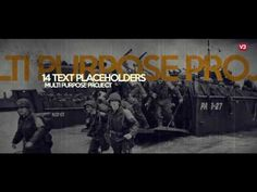 History Opener_V3 (Videohive After Effects Templates)