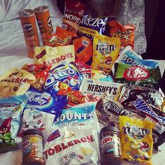 I don't even eat or like candy , but anyways...snacks