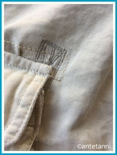 Fix it – Hosentasche ausgerissen   antetanni repariert   antetanni Fashion, Sachets, Moda, Fashion Styles, Fashion Illustrations