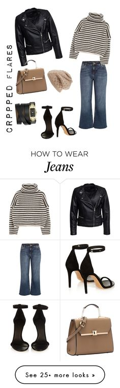 """CroPPed FlaRe JeaNs"" by kathrin-koim on Polyvore featuring River Island, Isabel Marant, Sisters Point, UGG Australia, Givenchy, women's clothing, women's fashion, women, female and woman"