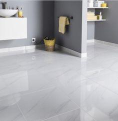 Samos, Marble Floor Kitchen, House Color Palettes, Polished Porcelain Tiles, Vitrified Tiles, Bungalow House Design, Home Room Design, Living Room Grey, Tile Design