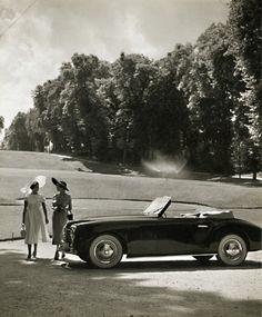 Photograph from a Simca car promotion 1955 • Robert Doisneau