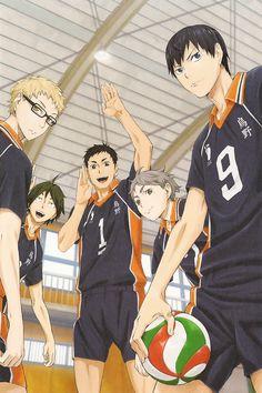Tsukki, Yams, Daichi, Suga and Kags :)