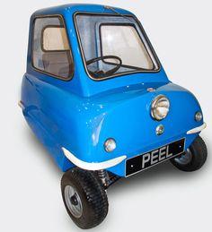 PEEL P50 Smallest City Car Concept