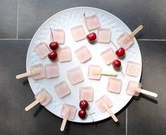 Whipped Cream and Cherry Limeade Jello Shots