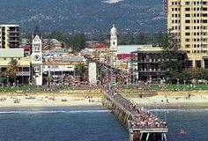 Hit the beach this summer in Glenelg, Adelaide.  Great cafe's and bars on the beach front.