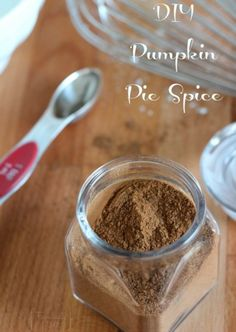 Make your own pumpkin pie spice for Holiday baking and more!