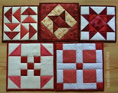 Seaside Stitches: Trivets for Susan