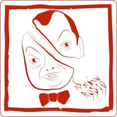 Antonio Ribichesu  #threefivefifty #05 #sticker #3550 #design #red Logo Design, Graphic Design, Stickers, Logos, Red, Logo, Visual Communication, Decals
