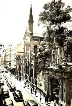 Calle de San Francisco, hoy Madero.-1939