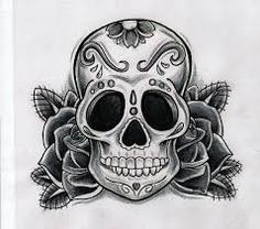 Image result for tattoo pin up skull