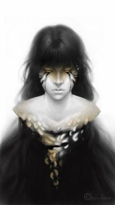As ilustrações de fantasia e surrealismo de Sara Diesel