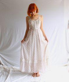vintage 70s GUNNE SAX floral maxi dress festival by shopiverlee