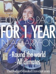 Ultimate #Travel #Packing List: How to Pack for a Year in a Carry On, complete with results after two months of being on the road.