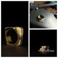 I N P R O G R E S S ✔️wasmodel gemaakt ✔️wasmodel gegoten van oud goud gouden sieraden ✔️ring afwerken ✔️zetting solderen ✔️Moissanite zetten ✔️ring naar de waarborg voor gehaltekeuring+aanbrengen van gehalteteken en meesterteken ✔️het eindresultaat #menterwolde #goudsmid #goudsmidatelier #goudsmidmargriet #goudsmidmetpassie #goudsmidingroningen #ambacht #vanoudnaarnieuw #handmade #custommade #herinneringen #middengroningen #groningen