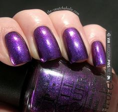 So neat! - OPI grape set match (bridesmaids?) | CHECK OUT MORE NON TRADITIONAL WEDDING VOW INSPIRATIONS AT WEDDINGPINS.NET | #weddings #weddingvows #vows #tradition #nontraditional #events #forweddings #iloveweddings #romance #beauty #planners #fashion #weddingphotos #weddingpictures