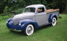 Willys-Overland Model 77 pickup 1938.