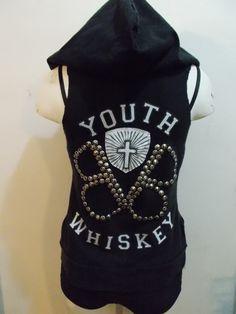 PlatiNUMB BLonde BLACK VEIL BRIDES Hoodie Vest Metal Goth Hardcore. $59.99, via Etsy.