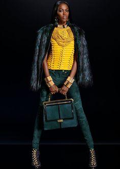 Le lookbook de la collection Balmain X H&M