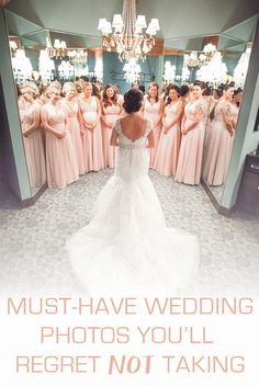 Must-Have Wedding Pictures for your big day!