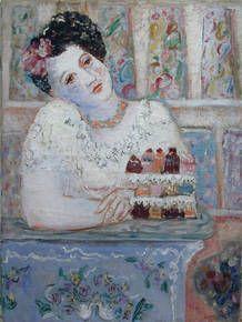 Leonor Fini La Confiserie Huile sur toile 1932 #leonorFiniDotCom Leonor Fini - peintures années 20 - 30