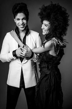 Prince and Andy Allo. Look at that smile ☺