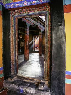 light and colors of Tibet n Jokhang Monastery,Lhassa,Tibet. Jokhang Monastery is the 1st monastery built in Tibet and the spiritual heart of Lhassa.