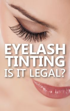 Dr Oz says that eyelash tinting is illegal in the state of New York as well as other states, but many women are risking their health to color their eyelashes. http://www.drozfans.com/dr-oz-beauty/dr-oz-low-carb-shirataki-noodle-swap-eyelash-tinting-legal/