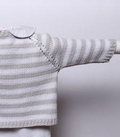 Knitting pattern Striped Cardigan / by LittleFrenchKnits on Etsy