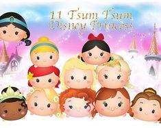 Princess tsum tsum   Etsy