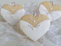Wedding royalicing cookies - Ciasteczka ślubne, podziękowania dla gości od Basia sweets - YouTube Wedding Cookies, Bridal Shower, Sweets, Shower Ideas, Youtube, Cookies, Shower Party, Gummi Candy, Candy