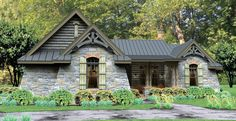 Cottage House Plan with 2234 Square Feet and 3 Bedrooms from Dream Home Source | House Plan Code DHSW076581