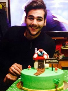 Ignazio when he came home after the We Are Love Tour 2013
