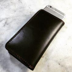 ぬーん #LeatherCraftl #handmade #レザークラフト #革 #iPhone6ケース