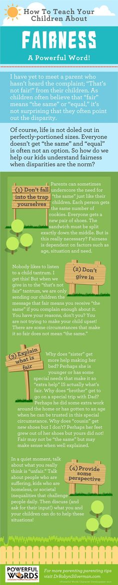 Fairness: A Powerful Word!