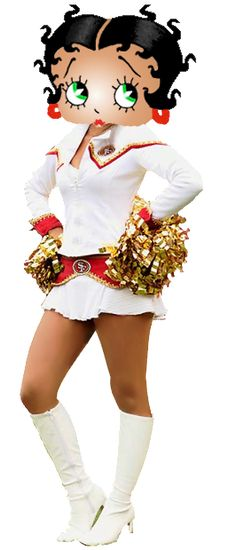 Betty Boop 49ers-Gold-Rush-Cheerleader photo BettyBoop49ers-Gold-Rush-Cheerleade.png