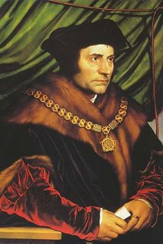 Sir Thomas More; Hans Holbein the Younger (c. 1498 — between 7 October and 29 November 1543) was a German artist and printmaker who worked in a Northern Renaissance style. He is best known as one of t