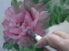 Yagli Boya Resim Teknikleri Sato Malikhane Konak Resmi Nasil Cizilir Cicek Bahcesi Yapimi Youtube Rose Oil Painting Rose Painting Bob Ross Paintings