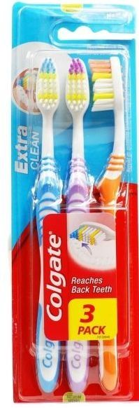 Colgate Toothbrush    Extra Clean    Great value triple pack    Sainsburys price £4.00 | Shop this product here: http://spreesy.com/DiscountFoodsofLincoln/323 | Shop all of our products at http://spreesy.com/DiscountFoodsofLincoln    | Pinterest selling powered by Spreesy.com