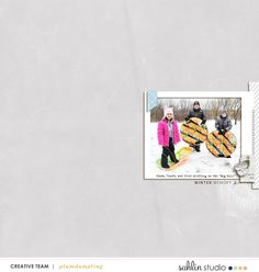 Winter Stories | January '21 Featured Products | Sahlin Studio | Digital Scrapbooking Designs
