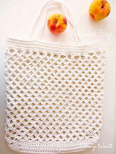 Un bolso que podrás hacer de forma fácil y rápida con cuerda de algodón. Perfecto para el verano y que podrás personalizar de una y mil formas: cambia el asa, forra de una tela que te guste el interior del bolso, hazlo grande, pequeño… como tu quieras.