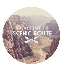 This is such a good one. Yes. :: scenic route by diemdesign